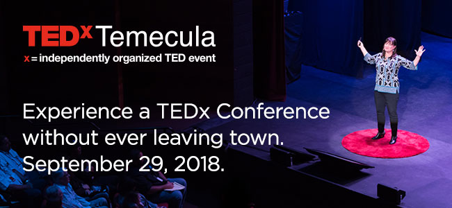 TEDxTemecula 2018 Event