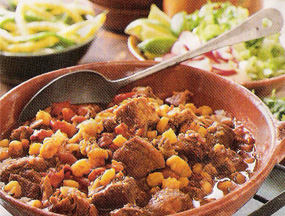 Comfort Food To The Rescue - Pork and Hominy Stew!