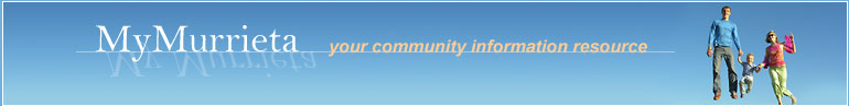 MyMurrieta.com: the community information website for the City of Murrieta, California